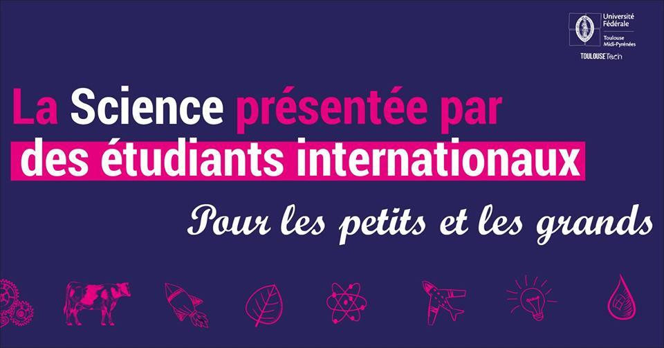 La science présentée par des étudiants internationaux de l'Université fédérale